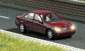 Busch Mercedes Benz C-Class 4-Door Sedan HO Scale Model Railroad Vehicle #5650
