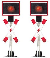 Busch Crossing Signals 2/ HO-Scale (2)