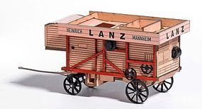 Busch Lanz Threshing Machine HO Scale Model Railroad Vehicle #59902