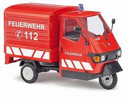 Busch 2006 Piaggio Ape 50 3-Wheel Pickup Truck O Scale Model Railroad Vehicle #60055