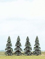 Busch Fir Tree 55mm 4/ (4)