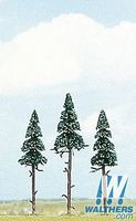 Busch Spruce Tree (3) Model Railroad Tree and Scenery #6114