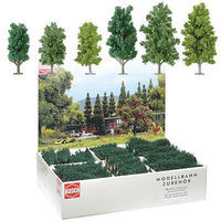 Busch Deciduous Tree Assortment (36) Model Railroad Tree #6332