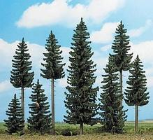 Busch Spruce Forest - Includes 8 Trees & Small Animals HO Scale Model Railroad Tree #6391