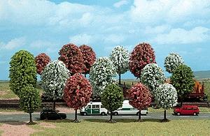 Busch Trees - Spring Foliage - 2-13/16 7cm to 5 HO Scale Model Railroad Tree #6484