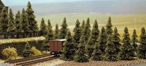 Busch Pine Trees pkg(60) N Scale Model Railroad Tree #6572