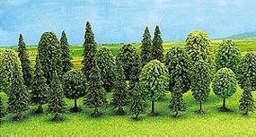 Busch Mixed Forest Tree Set (12) N Scale Model Railroad Tree #6589