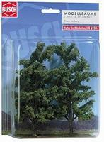 Busch Beech Trees pkg (2) - 150mm HO Scale Model Railroad Tree #6959