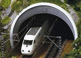 Double Portal Model Railroad Tunnels