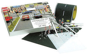 Busch Road Construction Complete Set N Scale Model Railroad Road Accessory #7097