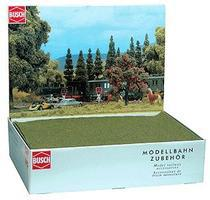 Busch Mini Grass Mats (15-1/2 x 10-5/8 39.5 x 27cm) (30) HO Scale Model Railroad Grass Mat #7291