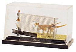 Busch Gmbh Complete Miniature Scene -- ''Dinosaur Escape!'' - HO-Scale