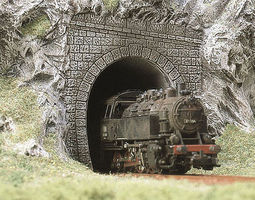 Busch Tunnel Portal Single (2) Model Railroad Miscellaneous Scenery #8190