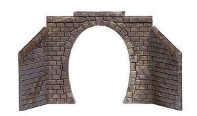 Busch Tunnel Portal Single N Scale Model Railroad Hardscape #8197