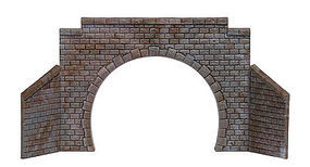 Busch Tunnel Portal Double N Scale Model Railroad Hardscape #8198