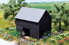 Busch Garden Shed - 55 x 34 x 51mm N Scale Model Railroad Building #8201