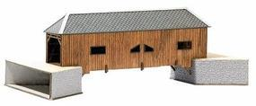 Busch Wooden Bridge - 139 x 64 x 49mm N Scale Model Railroad Bridge #8220