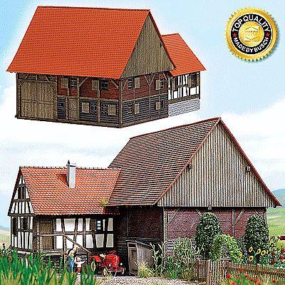 Mennwangen Small Historic Half Timber Farmhouse Kit N