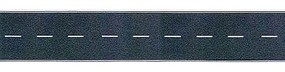 Busch Flexible Self Adhesive 2-Lane Paved Hiwy Straight HO Scale Model Railroad Road Accessory #9710
