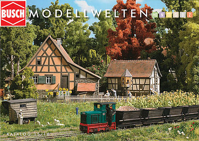 Busch Busch Catalog 2014/2015 Model Railroading Catalog #999898