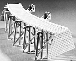 Campbell Trestle curved - HO-Scale