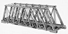 Campbell Howe Truss Bridge HO Scale Model Railroad Bridge Kit #305