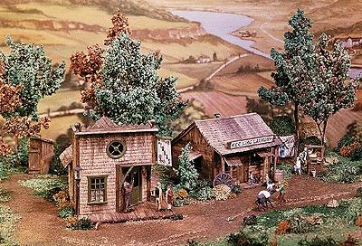 Campbell Kee Ling Laundry & Cigar Store HO Scale Model Railroad Building Kit #365