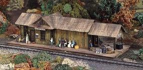 Campbell Skull Valley Station HO Scale Model Railroad Building Kit #367