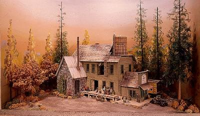 Campbell Brets Brewery - HO-Scale