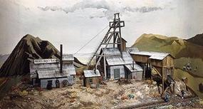 Campbell Silver Spur mine - HO-Scale