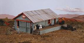 Campbell Oil Compound House (Including Dock) HO Scale Model Railroad Building Kit #409