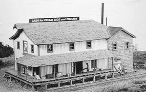 Campbell Co-op Creamery - HO-Scale