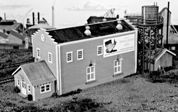 Campbell Popo-Agie Canning Co. HO Scale Model Railroad Building Kit #452