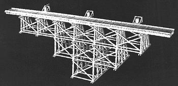 Campbell Trestle tall timber - N-Scale
