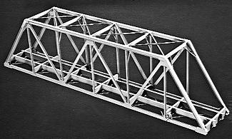 Campbell 125 Single-Track Truss Bridge HO Scale Model Railroad Bridge Kit #763