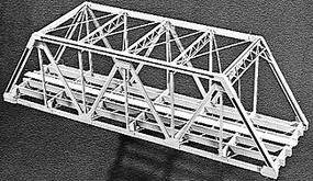 Campbell 125' Double Track Truss Bridge HO Scale Model Railroad Bridge Kit #764
