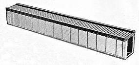 Campbell 70 Deck Plate Girder Bridge HO Scale Model Railroad Bridge Kit #765