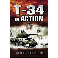 Casemate T34 in Action (Hardback) Military History Book #2430
