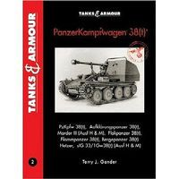 Casemate Tanks & Armour- Panzerkampfwagen 38(t) Model Figure Detailing Book #3091