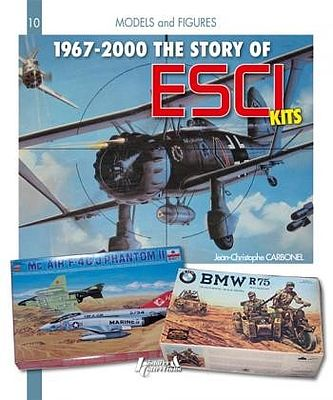 Casemate books 1967-2000 The Story of ESCI Kits -- How To Model Book -- #3101
