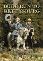 Bull Run to Gettysburg - American Civil War Game Rules & Campaigns Military History Book #3223