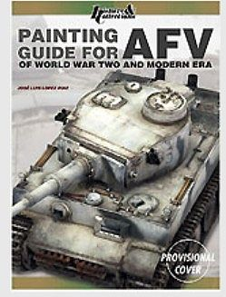 Casemate books Painting Guide for AFV of WWII & Modern Era -- How To Model Book -- #3873