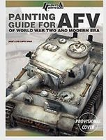 Casemate Painting Guide for AFV of WWII & Modern Era How To Model Book #3873