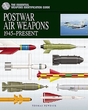 Casemate books Weapons Identification Guide- Postwar Air Weapons 1945-Present -- Military History Book -- #597
