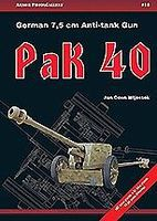 Casemate Armor Photo Gallery 18- German 7.5cm Anti-Tank Gun Pak 40 Military History Book #apg18