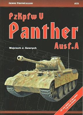 Casemate books Armor Photo Gallery 19- SdKfz 171 Panther Ausf A -- Military History Book -- #apg19