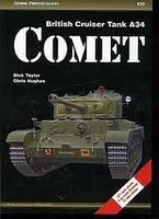 Casemate Armor Photo Gallery 20- British Cruiser Tank A34 Comet Military History Book #apg20