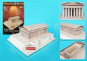 Cubic The Parthenon (Greece) (25pcs) 3D Jigsaw Puzzle #76
