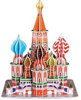 Cubic St. Basils Cathedral (Moscow, Russia) (173pcs) 3D Jigsaw Puzzle #93