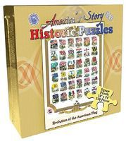 Channel-Craft Historic Evolution of the American Flag Puzzle (550pc)